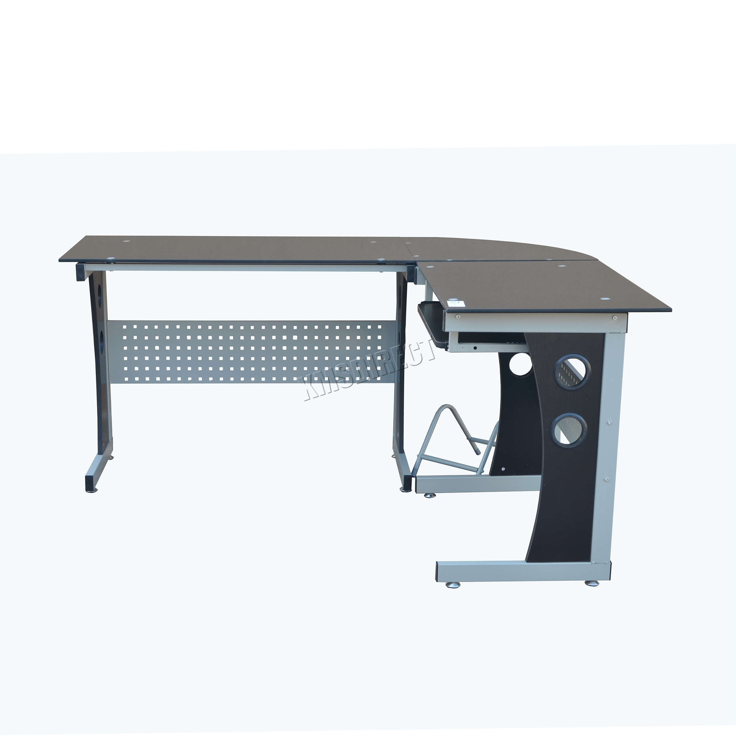 Westwood L Shaped Corner Computer Desk Pc Table Home Office Study