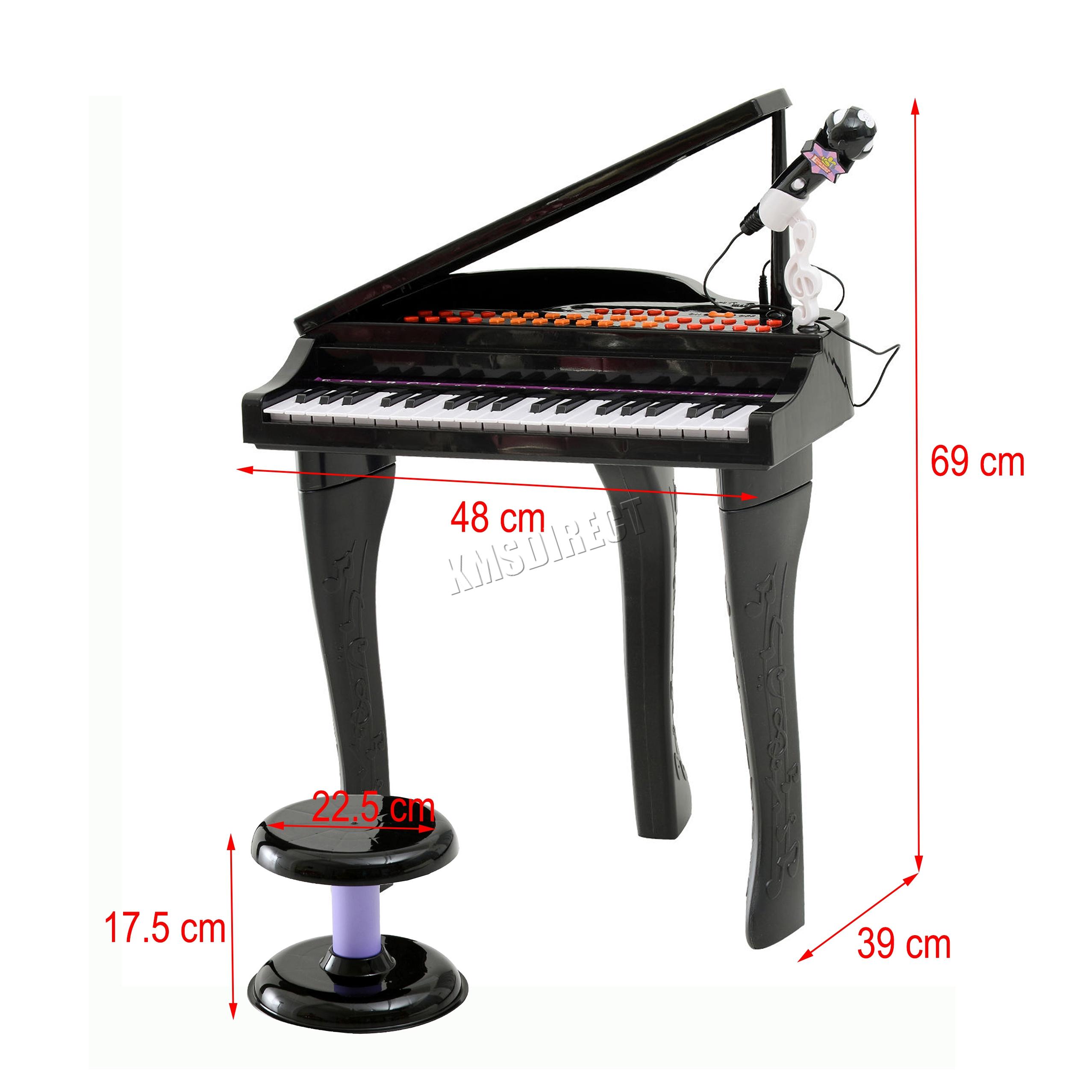 Foxhunter 37 Keys Kids Electronic Keyboard Piano