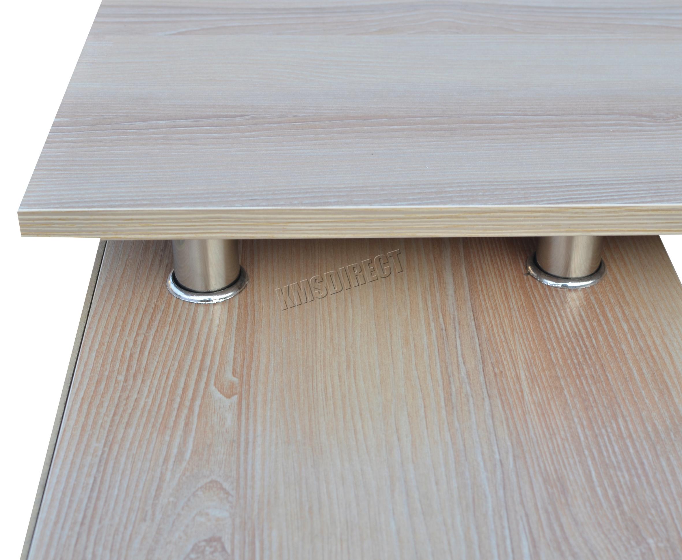 Westwood en forme de l coin ordinateur bureau pièce table bricolage