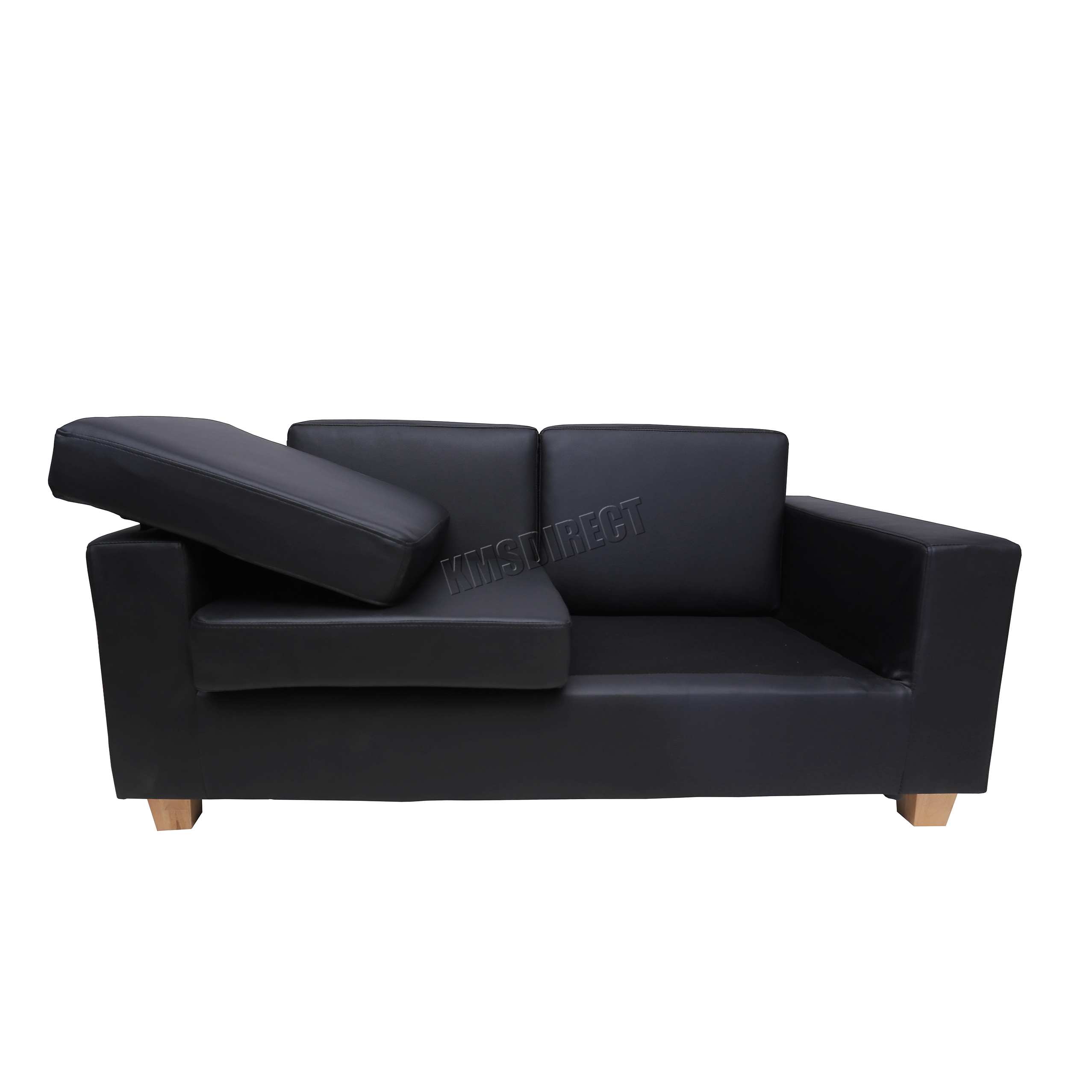 Foxhunter Pu 2 Seater Sofa Couch Livingroom Lounge