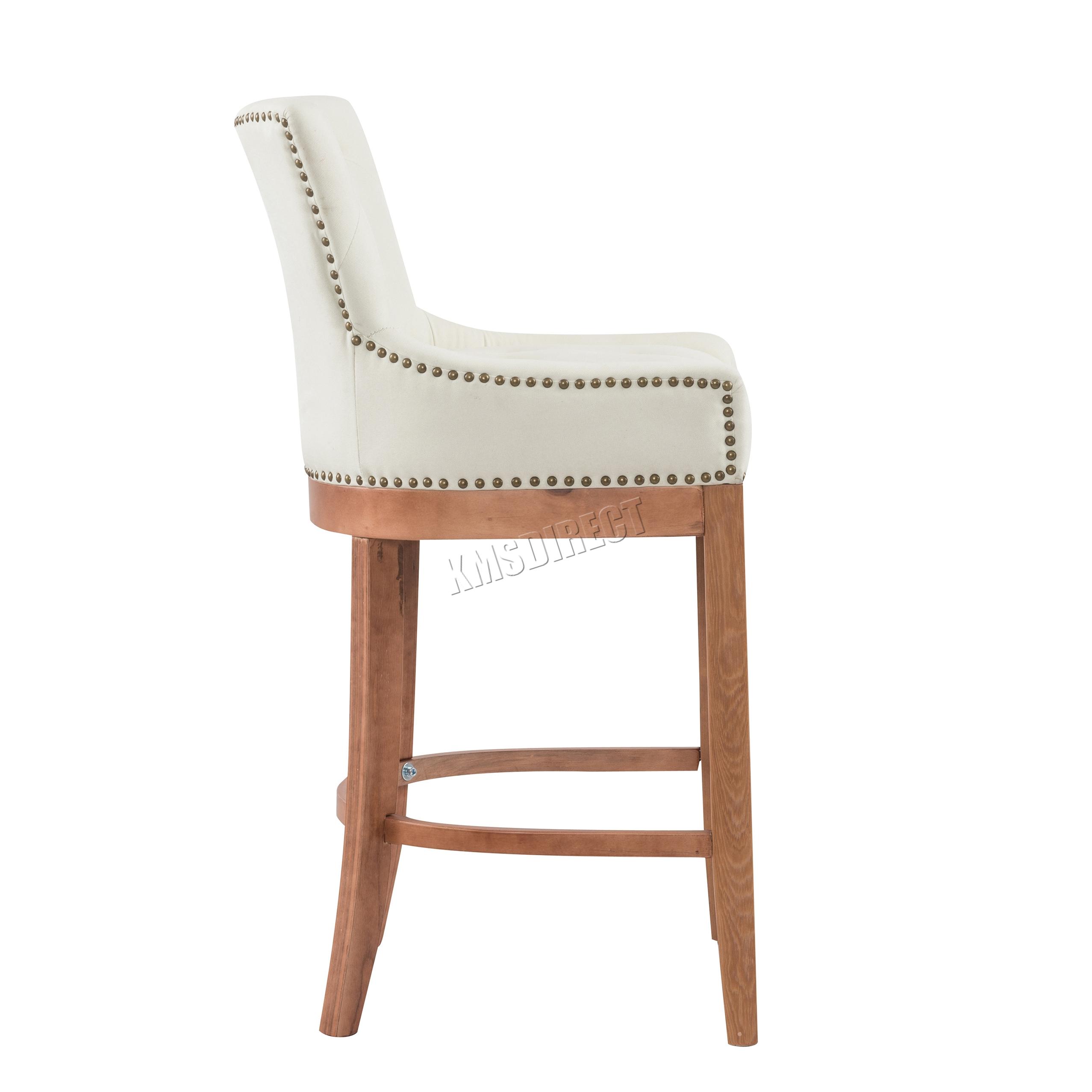 Westwood Fabric Bar Breakfast Stool Pub Dining Chair