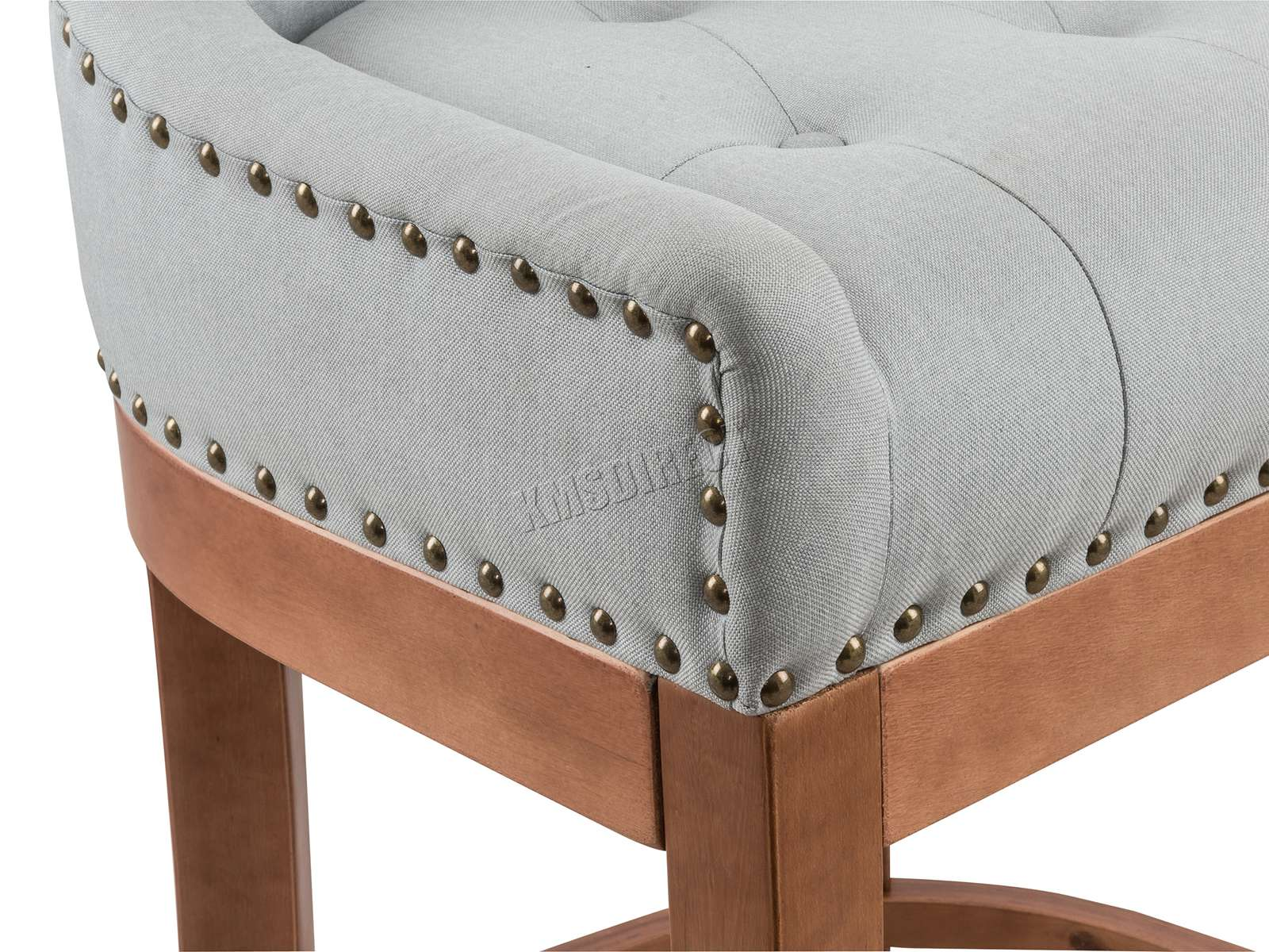 Westwood fabric bar breakfast stool pub dining chair padded