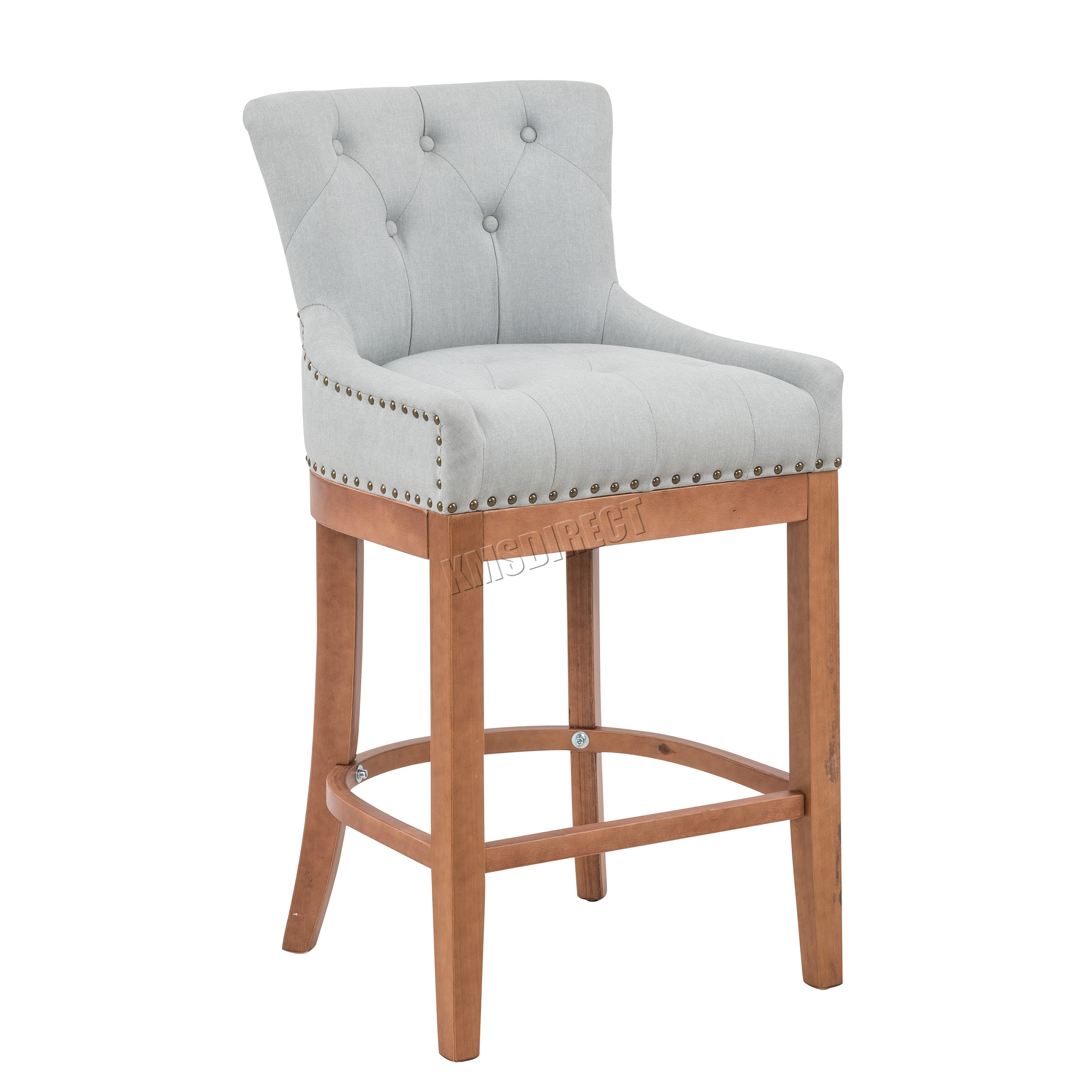 WestWood Fabric Bar Breakfast Stool Pub Dining Chair ...