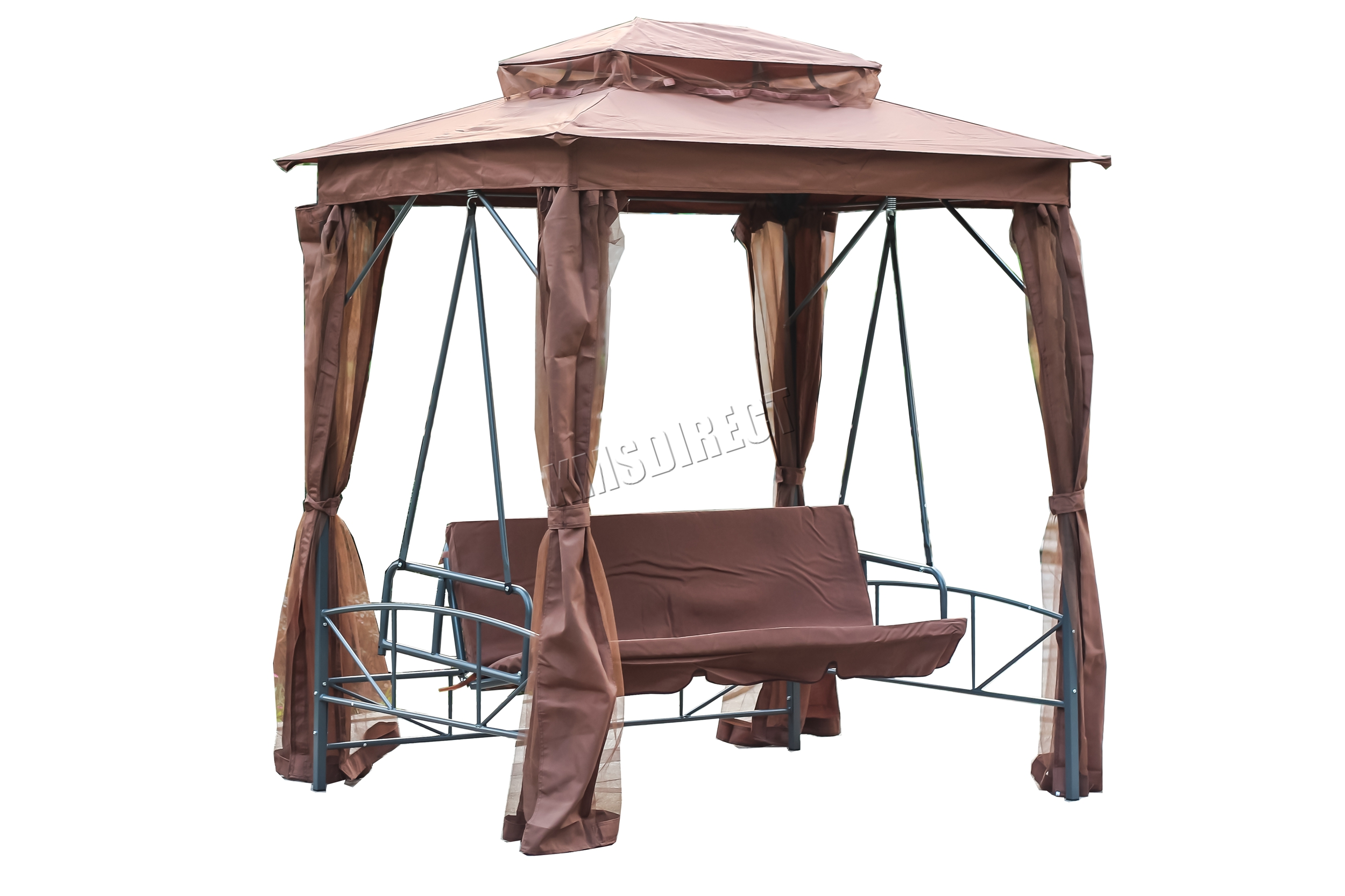 itm sentinel bed bench westwood gazebo brown hammock chair swing garden seat canopy