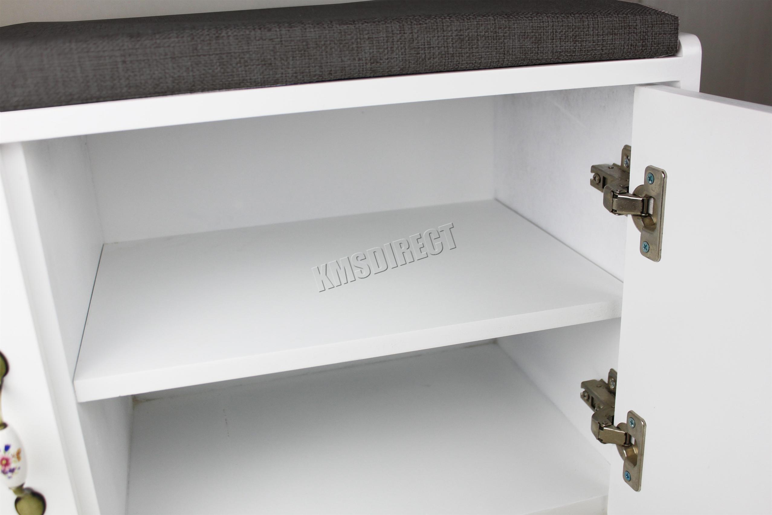 FoxHunter Zapato Armario Banco 2 capas MDF CALZADO ORGANIZADOR ...