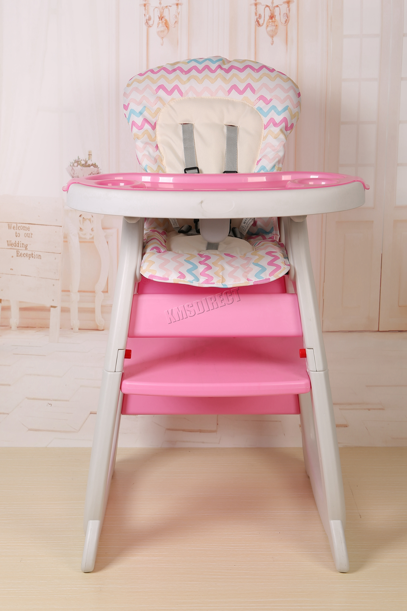 foxhunter baby highchair infant high feeding seat 3in1 toddler table chair new ebay. Black Bedroom Furniture Sets. Home Design Ideas
