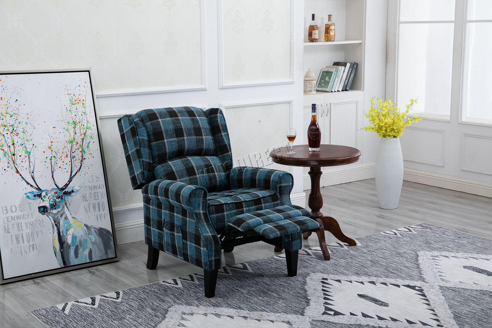 Vasca Da Bagno Divano.Westwood Vintage Armchair Sofa Recliner Lounge Fabric Tub Chair Seat