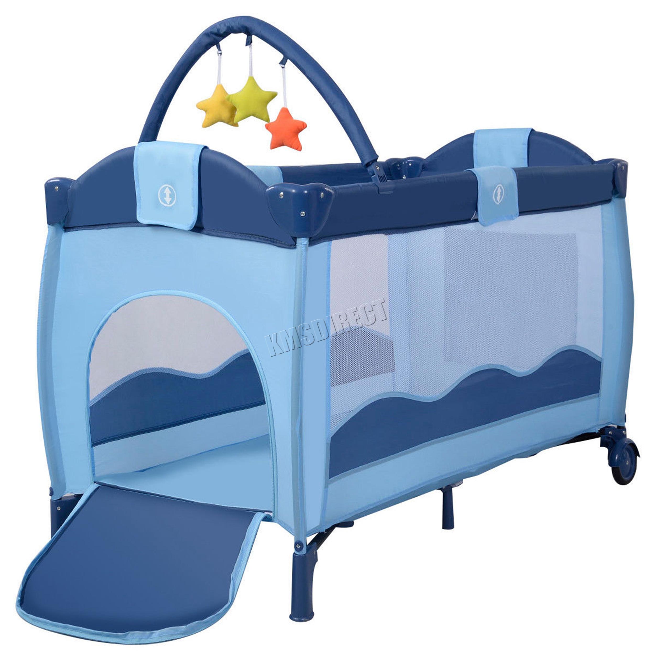 f574037de Sentinel FoxHunter Portable Baby Travel Cot Bed Kids Infant Playpen  Bassinet BCB01