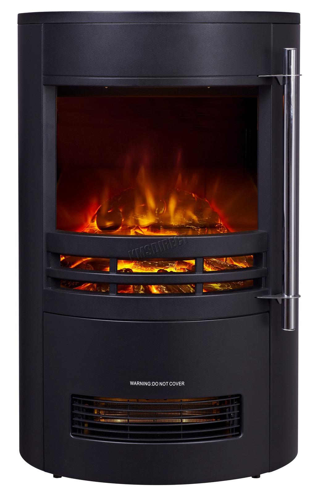 foxhunter electric fire log burner fireplace 1800 1850. Black Bedroom Furniture Sets. Home Design Ideas