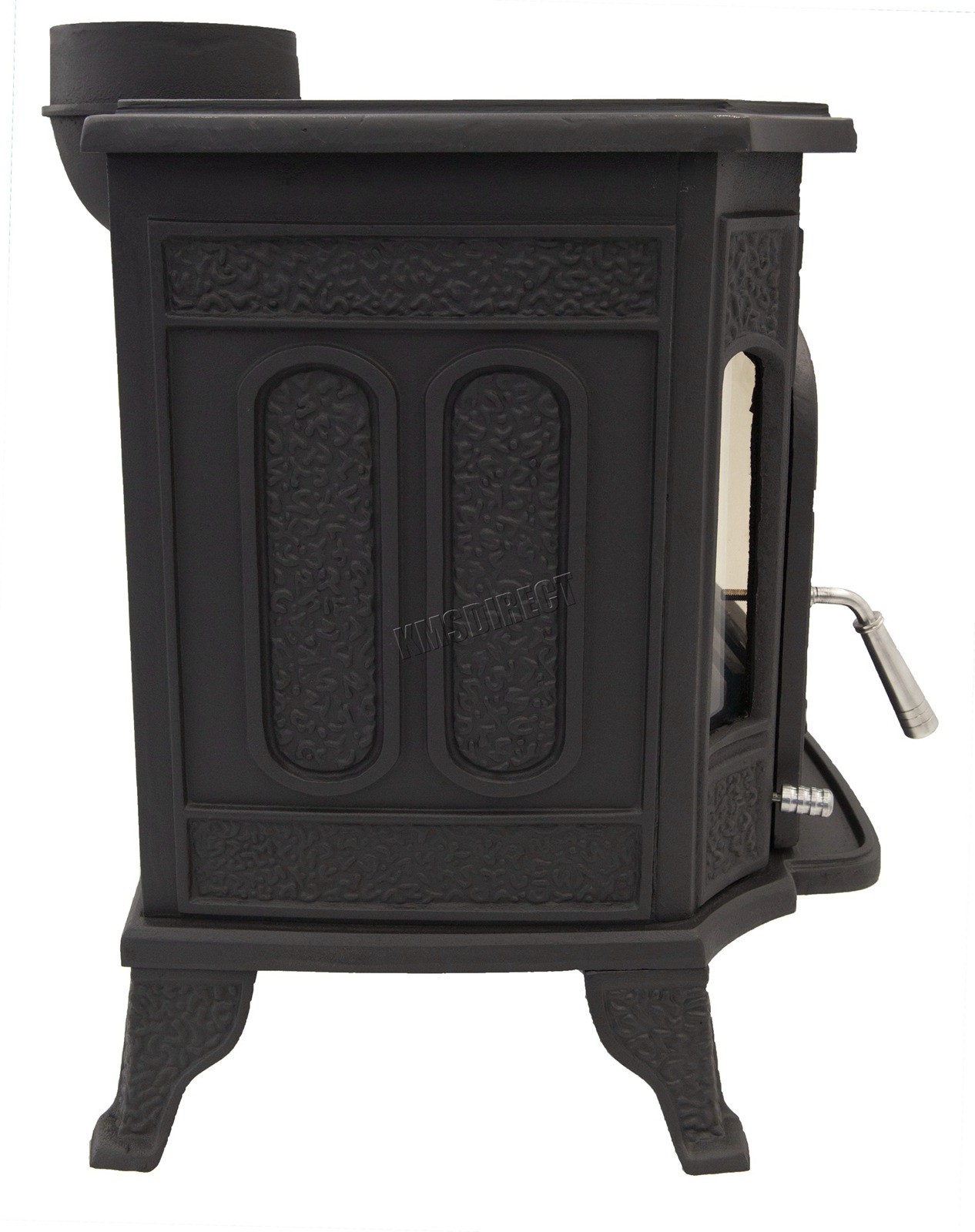 Woodburner Cast Iron Log Burner Multifuel Wood Burning