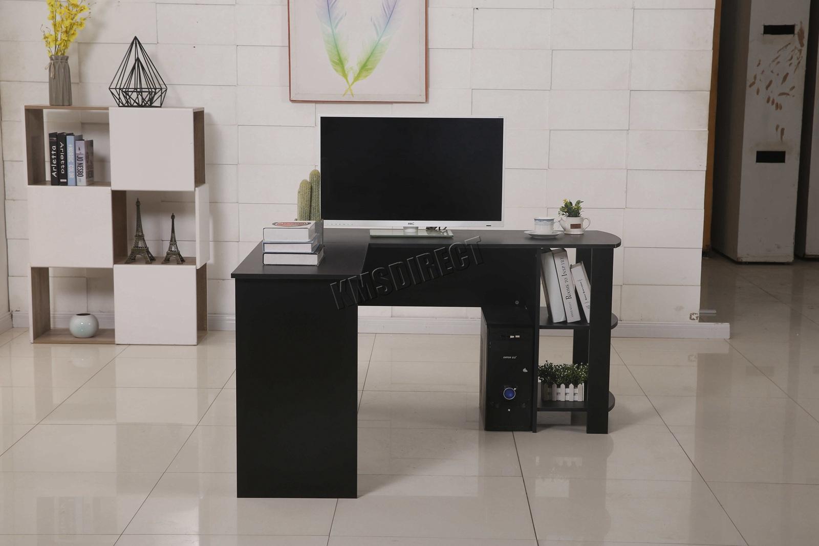 WestWood Computer Desk - Study Gaming Desktop PC Table L ...