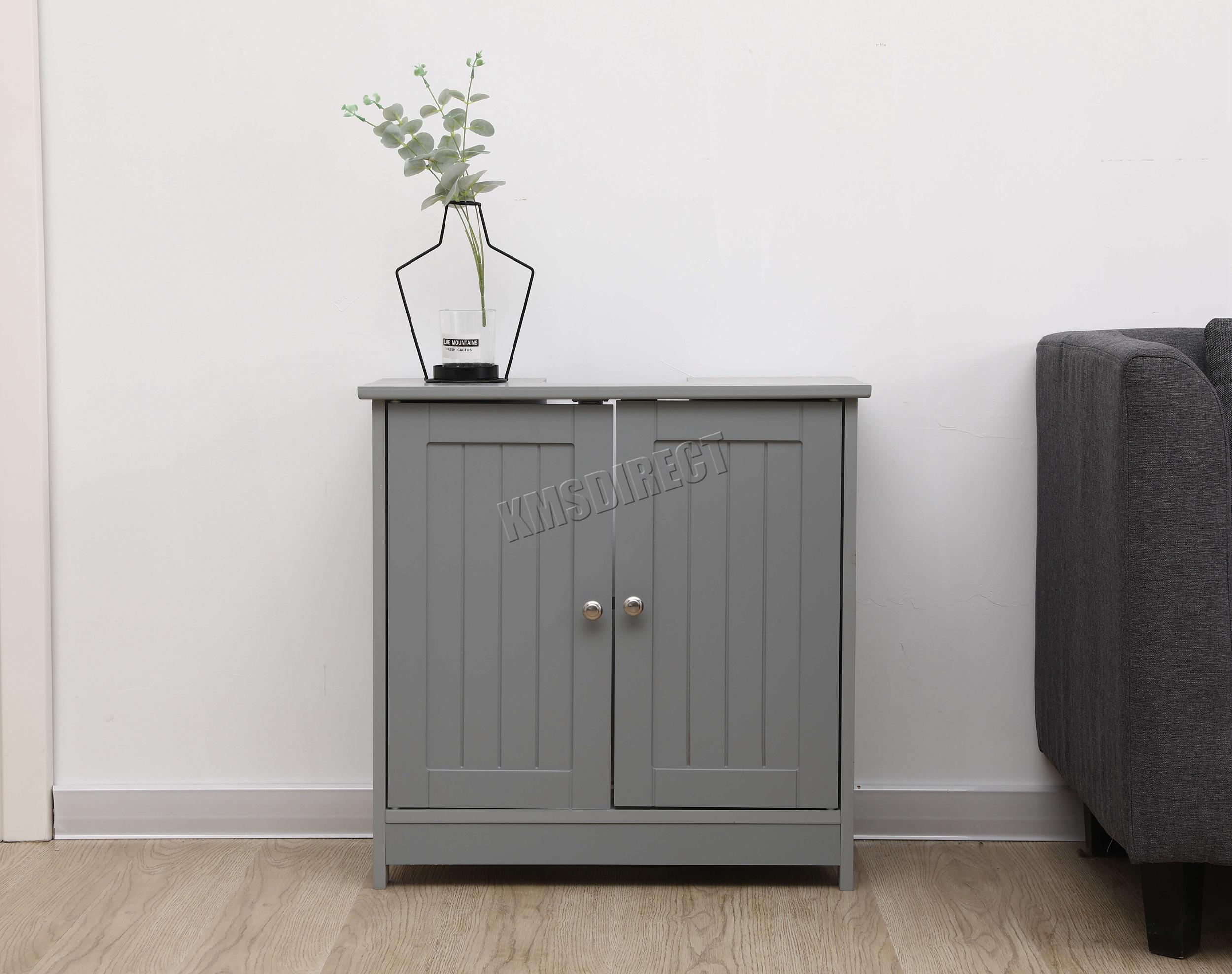 WestWood-Vanity-Unit-Wooden-Under-Sink-Wash-Basin-Bathroom-Cabinet-Storage thumbnail 14