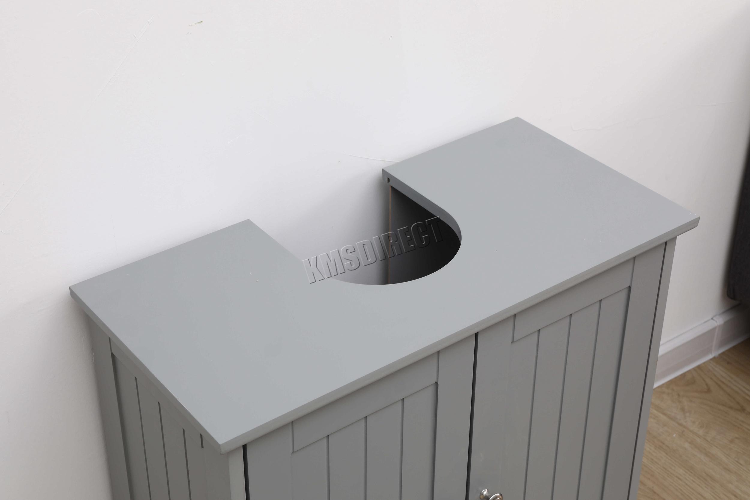 WestWood-Vanity-Unit-Wooden-Under-Sink-Wash-Basin-Bathroom-Cabinet-Storage thumbnail 17