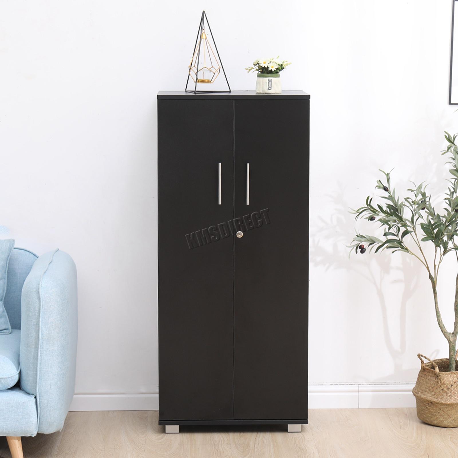 Cupboard Storage With Lock Wood Filing