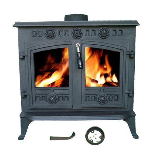 new cast iron log burner multifuel wood burning 12 kw stove