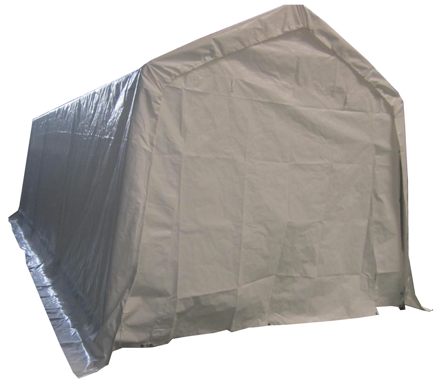 BIRCHTREE Garage Carport Shelter Car Port Canopy 3m x 6m ...