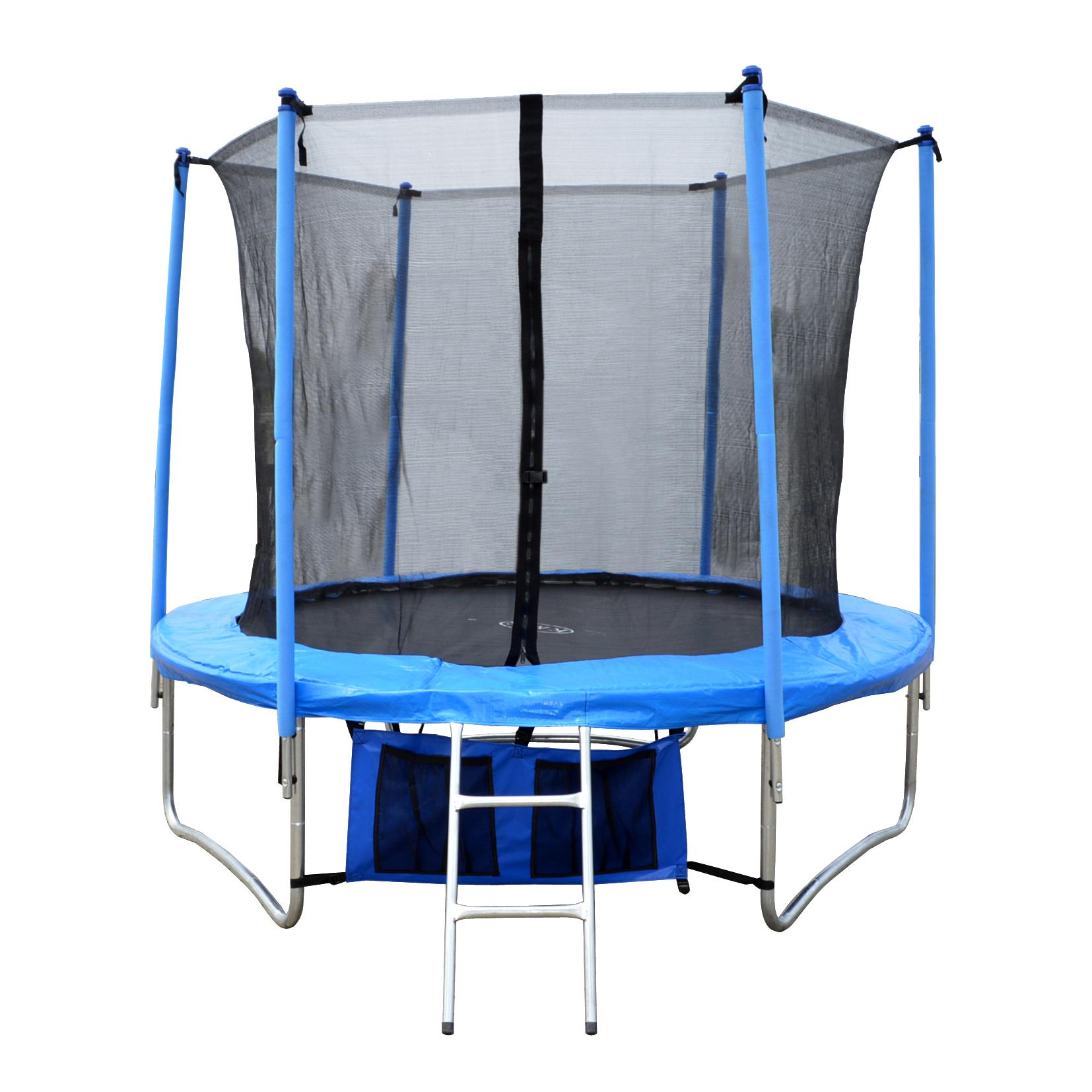 4.5FT 8FT 10FT 12FT 14FT 16FT Trampoline With Ladder Rain