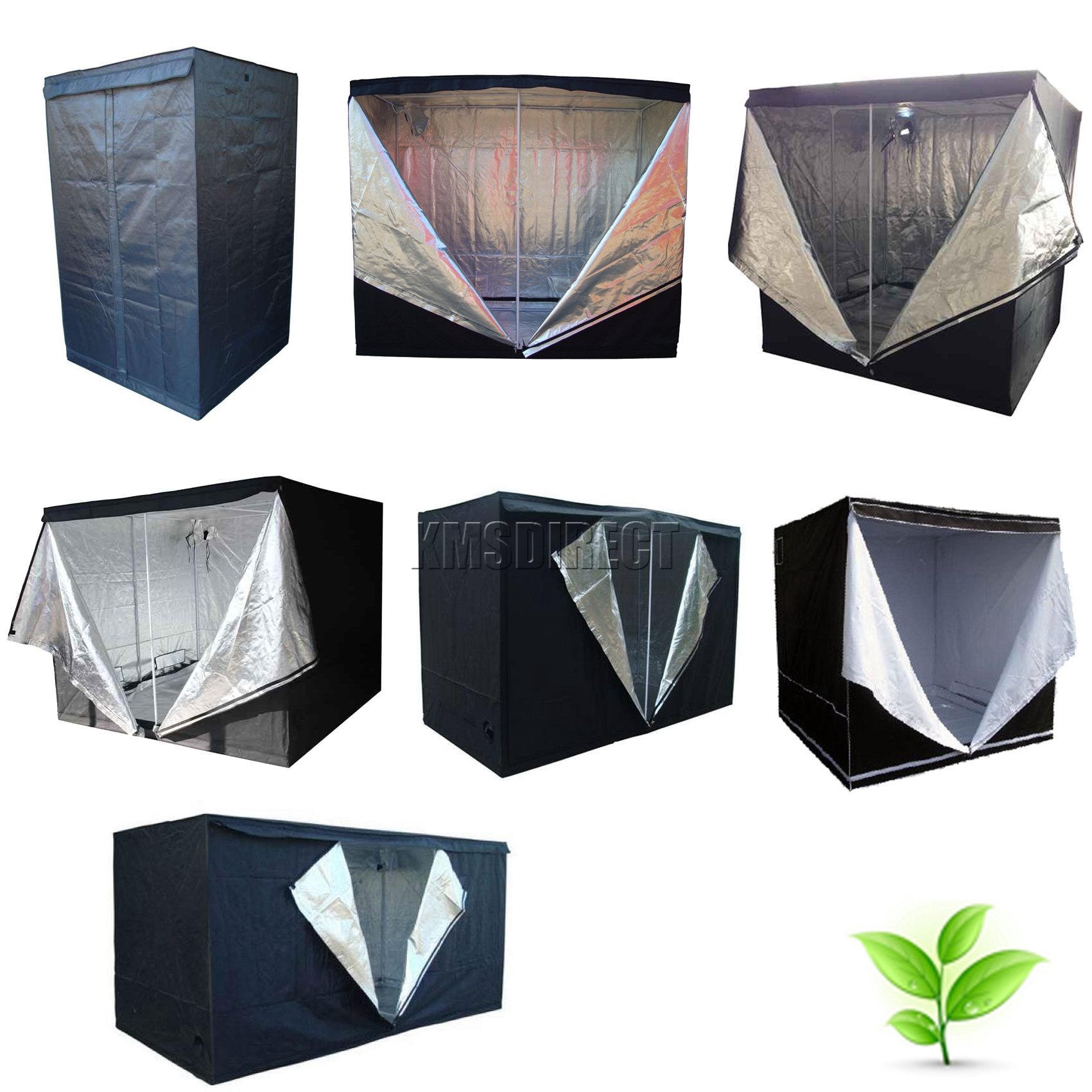 Sentinel Indoor Portable Grow Tent Bud Dark Green Room Silver Mylar Lined Hydroponic New  sc 1 st  eBay & Indoor Portable Grow Tent Bud Dark Green Room Silver Mylar Lined ...