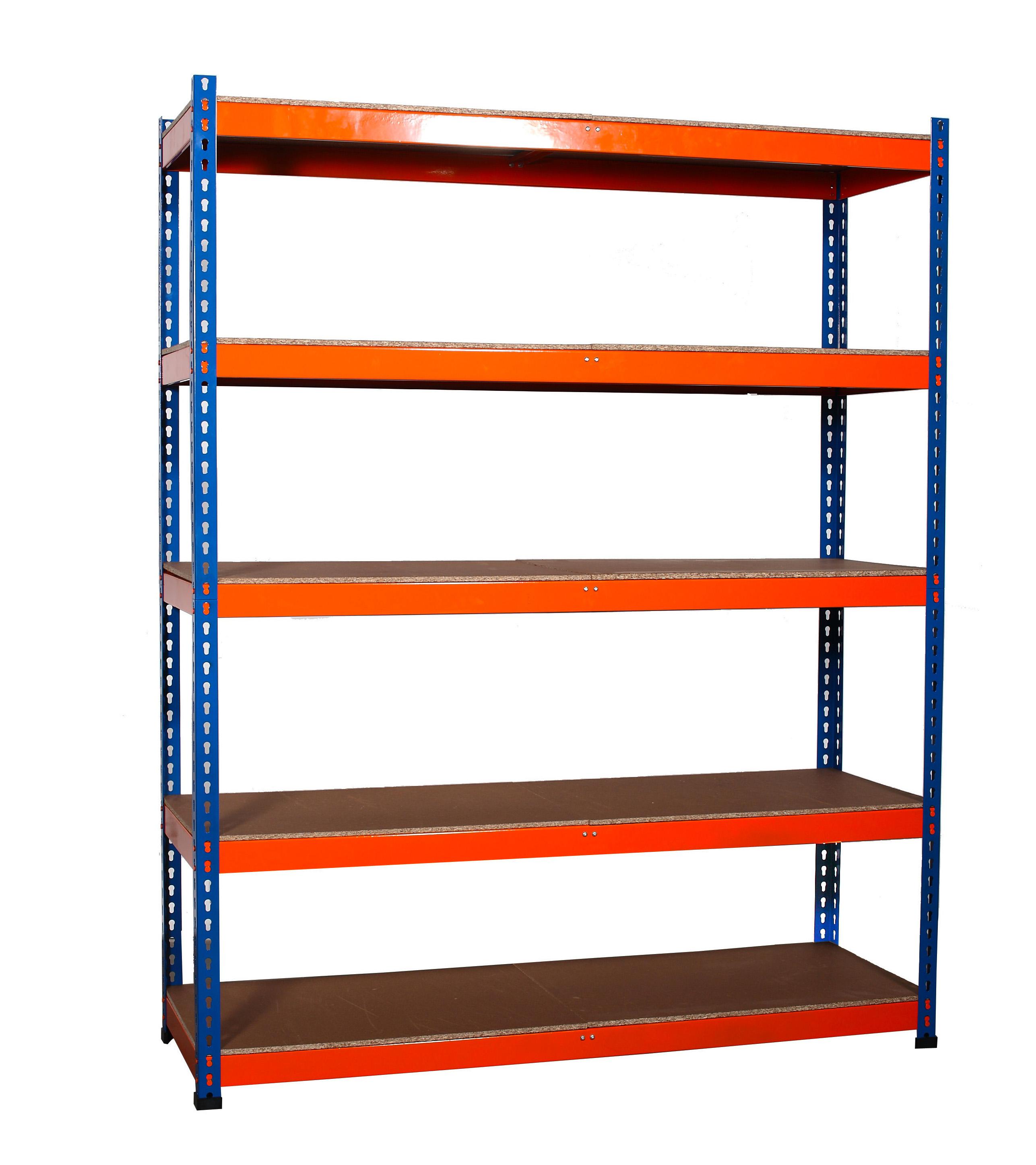 workshop garage warehouse shed storage shelf racking unit plastic rh ebay ie metal racks shelving metal racks shelving