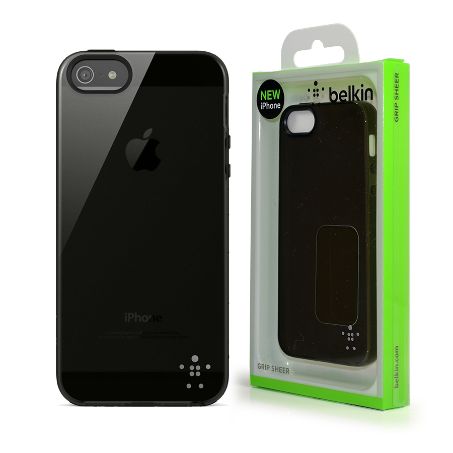 belkin iphone 5 case genuine belkin grip sheer translucent black cover for 9834