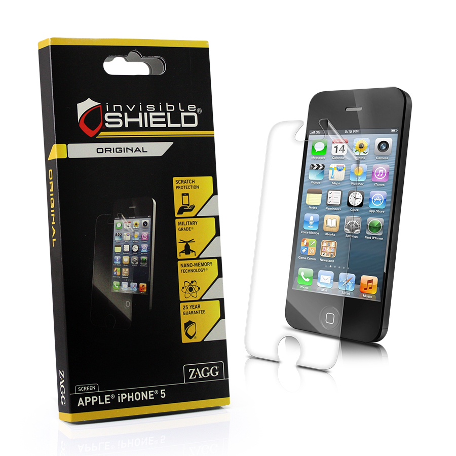 screen protector iphone 5 screen protectors invisibleshield shield for 16068
