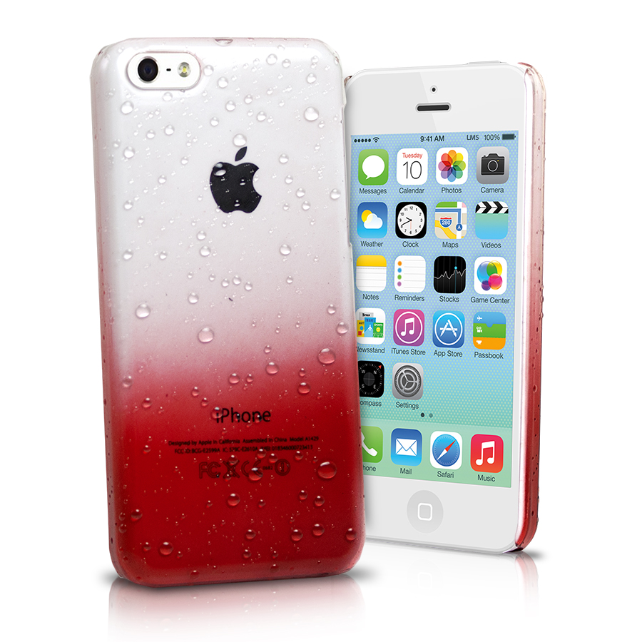 3d cases for iphone 5c 3d raindrop ultra thin cover for apple iphone 5c 8574