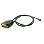 1m Mini DisplayPort Male to DVI-D Dual Link Male Adapter Convertor Cable - BLACK