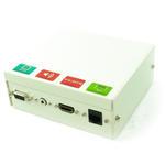 4 Port Metal AV Modular Box with SVGA, 3.5mm Stereo Jack, HDMI & RJ45 Coupler