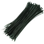100 Pack of 368mm x 4.8mm Cable/ Lead Management Ties - BLACK