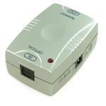 Optical TOSLINK Digital to Phono Coaxial Analogue Audio Converter - SILVER
