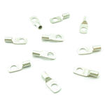 10 x Pack 25mm2 x M10 Battery Winch Crimp Terminal fits CSA Wire Cable - SILVER