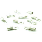 10 x Pack 50mm2 x M8 Battery Winch Crimp Terminal fits CSA Wire Cable - SILVER