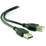 1m 3'ft USB 2.0 Extension A Male to A Male A-A AM-AM Data Cable Lead - BLACK