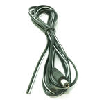 2m 6'ft DC Jack 5.5mm x 2.5mm Power Male to Bare Ends Power Cable - BLACK