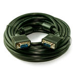 10m Male to Male SVGA/VGA Cable Lead Wire TFT Screen ALL 15 pins Wired Connected