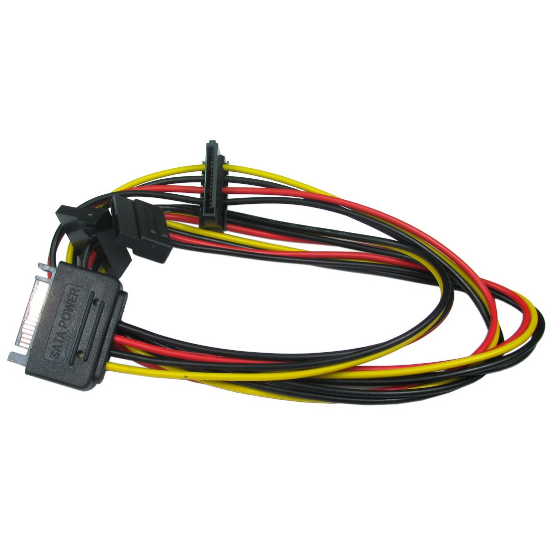 Sata Power Splitter : Sata serial ata power splitter male to way y