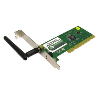 802.11n 150Mbps Wireless WiFi Network Networking Lite-N PCI Expansion PC Card