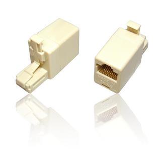 RJ45 Crossover Cat5e Network Ethernet Adaptor Converter RJ-45 Male to Female