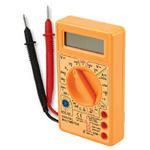 Digital Voltmeter Ampmeter Multimeter AC DC Meter OHM's Tester Checker inc Leads