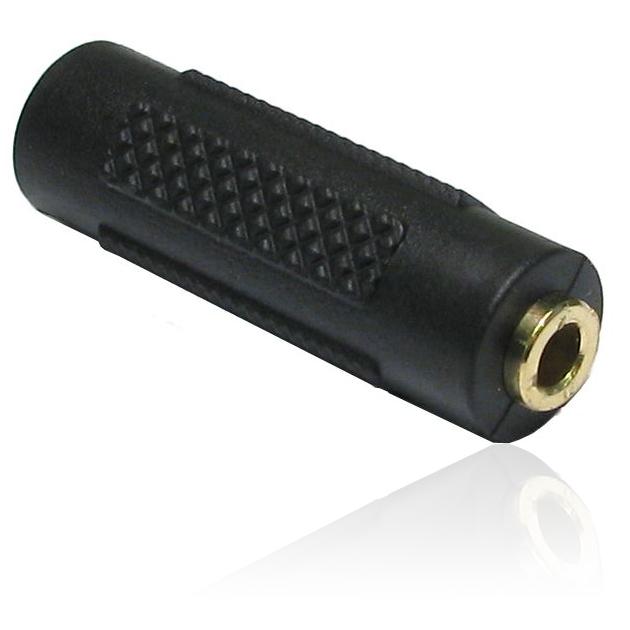 3 5mm Stereo Jack Female Socket To 3 5mm Coupler