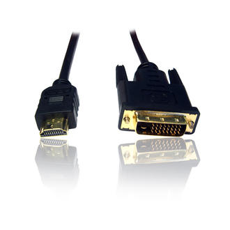 10m/ 33ft DVI to HDMI Cable/ Lead/ Wire- Connect PC/Laptop to TV/ DVD to TFT