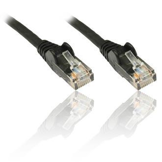 10 x 1m 3'Ft CAT 6 CAT6 Gigabit 10/100/1000 Network Ethernet Patch Lead Black