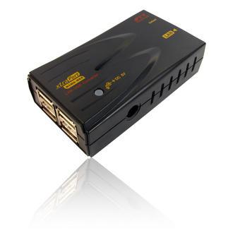 4 Port USB NAS HDD 10/100 Network Ethernet LAN & Printer Server Dongle