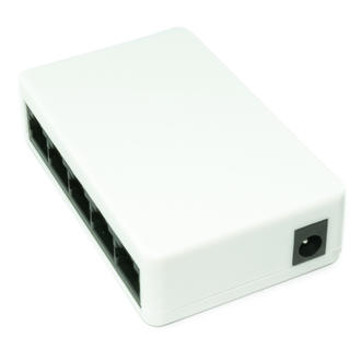 5 Port RJ45 Nway LAN Network Ethernet Hub Switch Splitter 10/100 4 Extra Ports