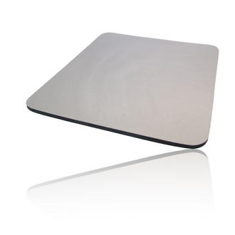 Hard Foam Cloth Covered PC Computer Mice Mouse Mat / Pad Grey