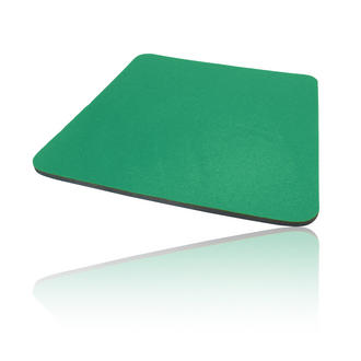 Hard Foam Cloth Covered PC Computer Mice Mouse Mat / Pad Green