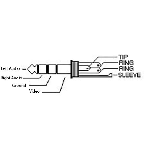 2TR 403RA wiring 3m 3 5mm right angle 90 deg 4 pole rings jack plug to rca phono 3.5 mm to rca wiring diagram at aneh.co