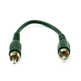 15cm Really Very Shortv Single RCA/ Phono Male to Male M-M Audio/Video AV Cable