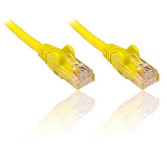 0.25m 25cm YELLOW CAT 6 Gigabit 10/100/1000 Network Ethernet Patch Cable Lead