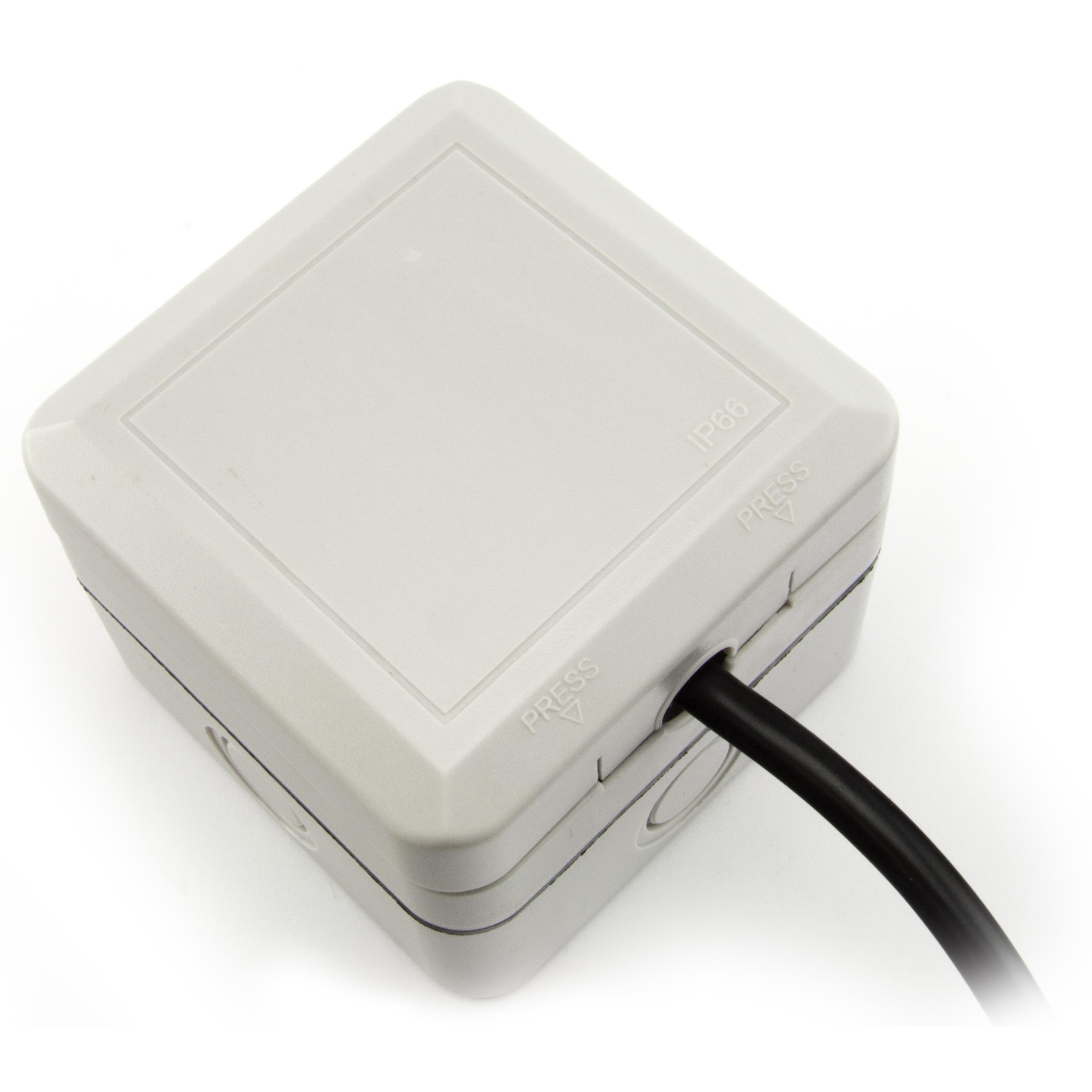 Waterproof Outdoor Garden Uk 3 Pin 240v Plug Socket